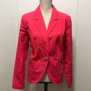 New Liz Claiborne Pink Blazer Size L